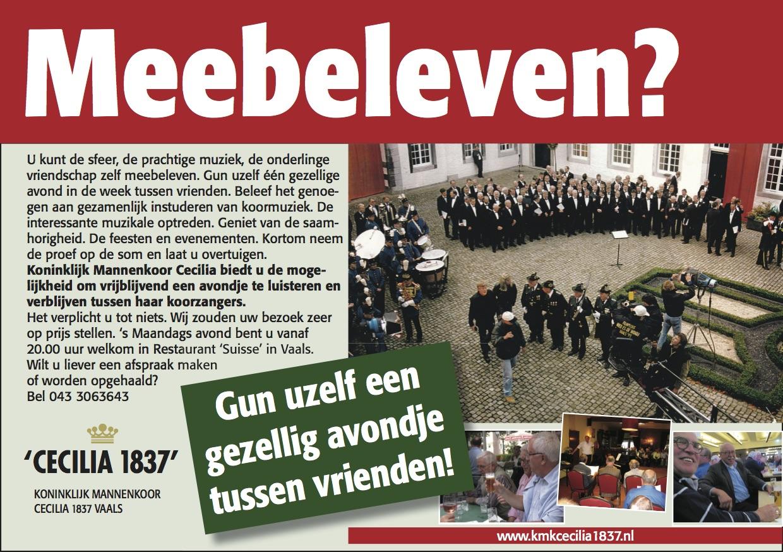 Advertentie Meebeleven (NL)