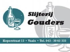 Advertentie Slijterij Gouders
