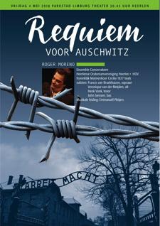 Advertentie Requiem voor Auschwitz